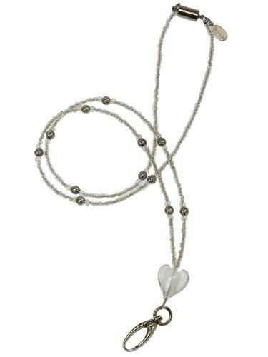 Medical Alert Necklace - Stunning Silver Heart