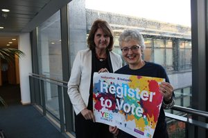 registering to vote