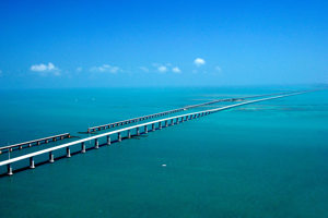 7-mile bridge wide view