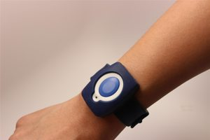 Alert1 Silicone Slapband With Medical Button