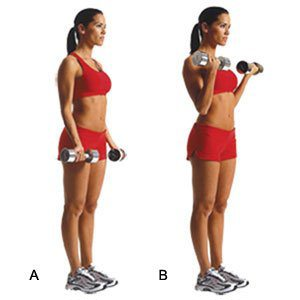 Bicep curls. alert1 medical alert systems