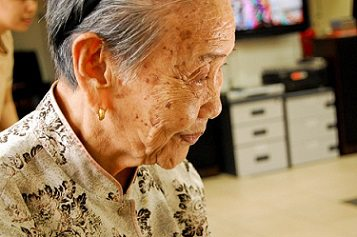 asian grandmother