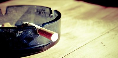 cigarettes in ash tray.alert1 medical alert systems