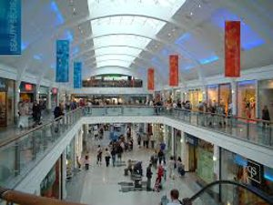 inside of a mall