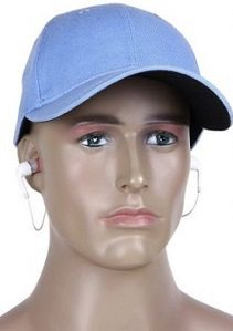 Wireless Earbuds Canvas Baseball Hat