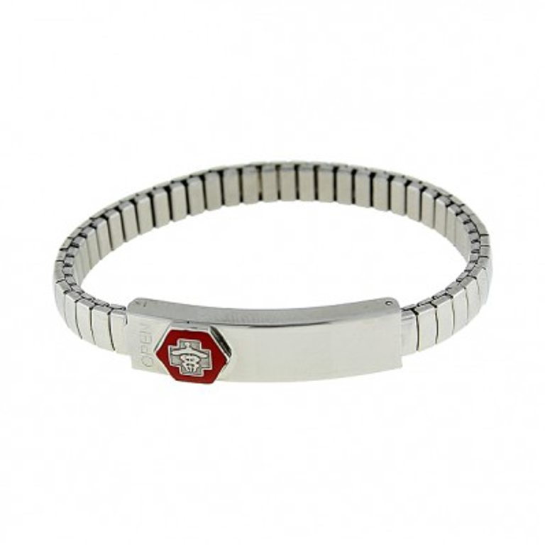 Small Stretch Band Medical ID Bracelet