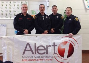 firefighters with alert1 banner