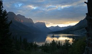 lovely glacier national park