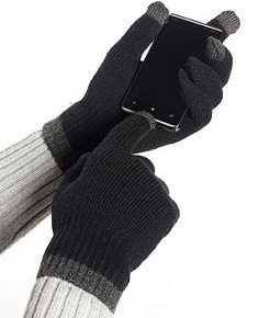 Alfani Knit Touchscreen Gloves