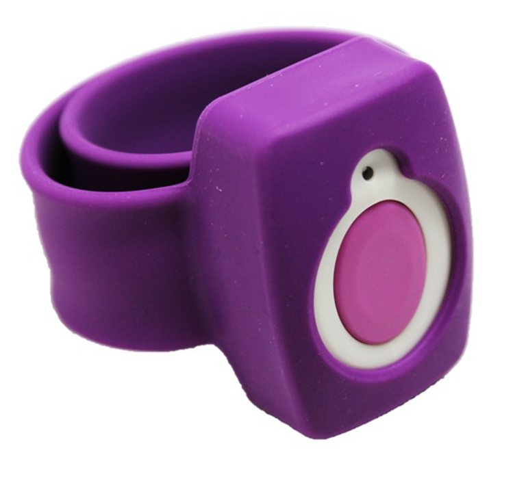 Purple Silicone Wristband
