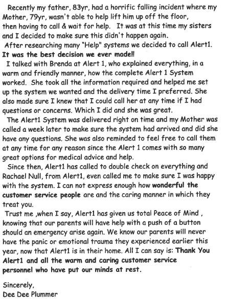 review3. alert1 medical alert systems