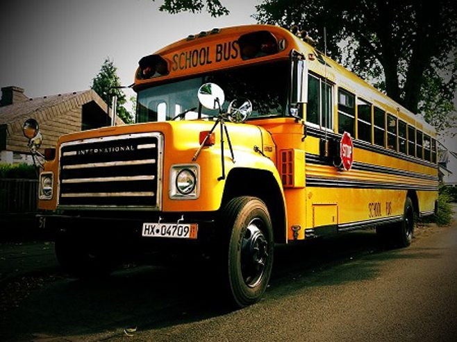 school bus. alert1 medical alert systems