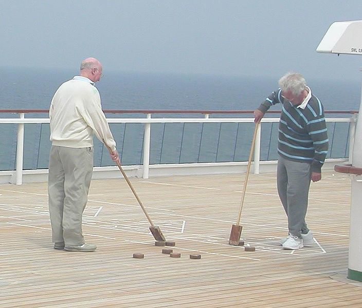 Shuffleboard. alert1 medical alert systems