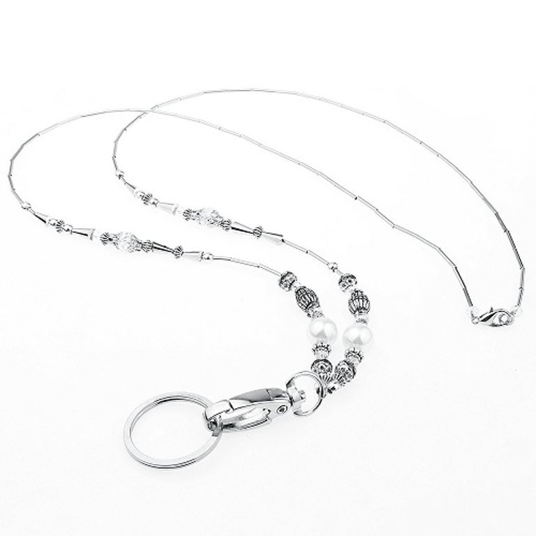 Silver Pearl Necklace