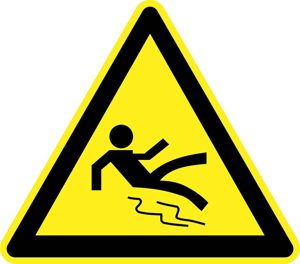 dont slip sign.alert1