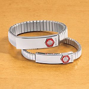 medical Id bracelet.alert1 medical alert systems
