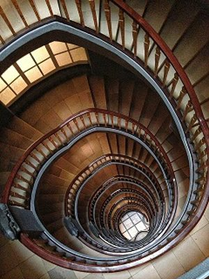 Winding stairs.alert1