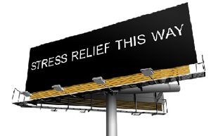 Stress Relief Billboard