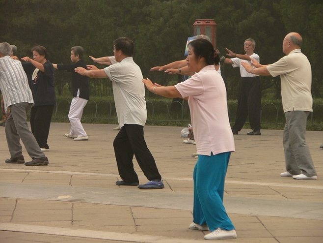 Tai Chi Seniors. alert1 medical alert systems