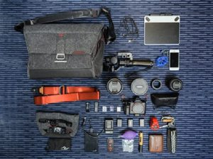 toolkit with contents