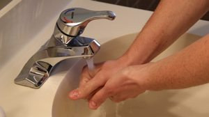 washing hands.alert1 medical alert systems