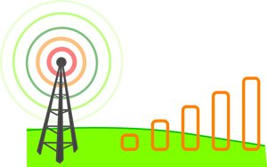 wireless cell tower and gps