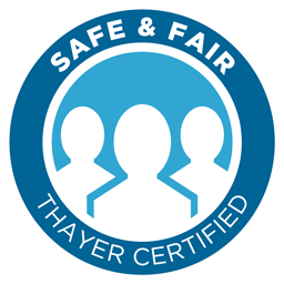 Safe & Fair Thayer Certified